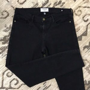 Frame | Black Denim Jeans